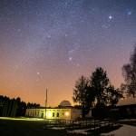 Hvězdárna v Úpici - noční pohled 1
